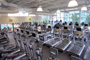 Extensive Cardio Room