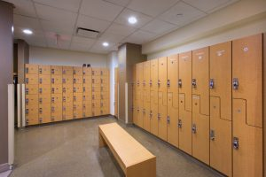State of The Art Locker Rooms